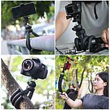 Штатив гибкий мини для GoPro, телефона, фотоаппарата + ПОДАРОК, фото 6