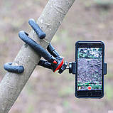 Штатив гибкий мини для GoPro, телефона, фотоаппарата + ПОДАРОК, фото 2
