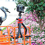 Штатив гибкий мини для GoPro, телефона, фотоаппарата + ПОДАРОК, фото 9