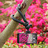 Штатив гибкий мини для GoPro, телефона, фотоаппарата + ПОДАРОК, фото 3