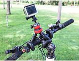 Штатив гибкий мини для GoPro, телефона, фотоаппарата + ПОДАРОК, фото 8
