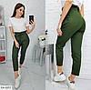 Женские модные брюки с поясом в актуальных, фото 4