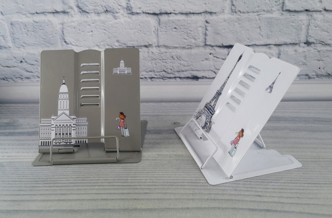 Підставка металева для книг Travel асорті DSCN1163 11553Ф