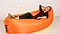 Ламзак - надувной матрас, мешок, диван, кресло, гамак, шезлонг ОРАНЖЕВЫЙ, фото 3