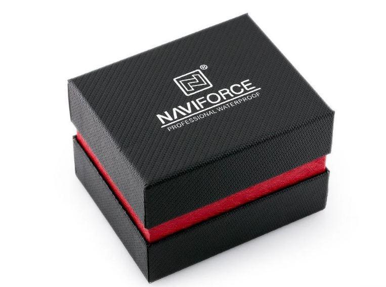 Коробка подарочная для наручных часов NaviForce c подушкой
