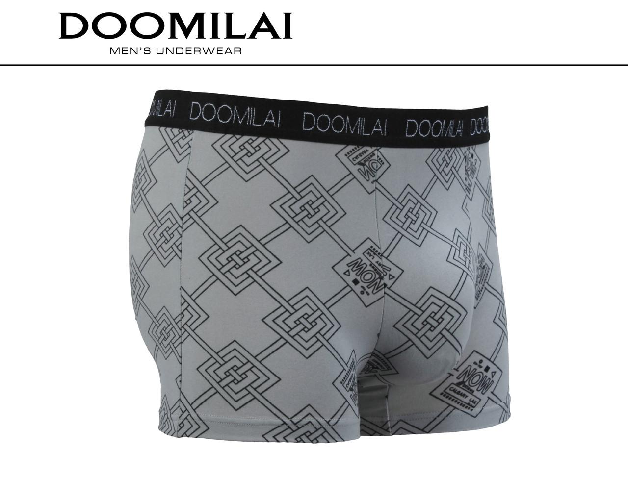 Чоловічі боксери стрейчеві з бамбука «DOOMILAI» Арт.D-01252