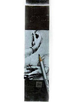 Карандаши чернографитовые 2H Raffine 7000-12 Marco