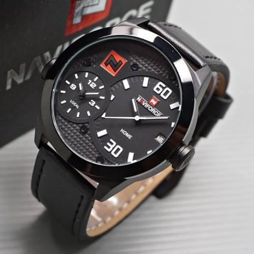 Мужские наручные часы NaviForce 9092 + Подарочная коробка + ПОДАРОК Нож кредитка