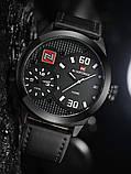 Мужские наручные часы NaviForce 9092 + Подарочная коробка + ПОДАРОК Нож кредитка, фото 5