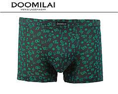 Мужские боксеры стрейчевые из бамбука  Марка  «DOOMILAI» Арт.D-01229