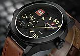 Мужские наручные часы NaviForce 9092 + Подарочная коробка + ПОДАРОК Нож кредитка, фото 3