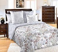 Постельное белье, комплект постельного белья полутороспальный, евро, двуспал, перкаль, Шелковый веер