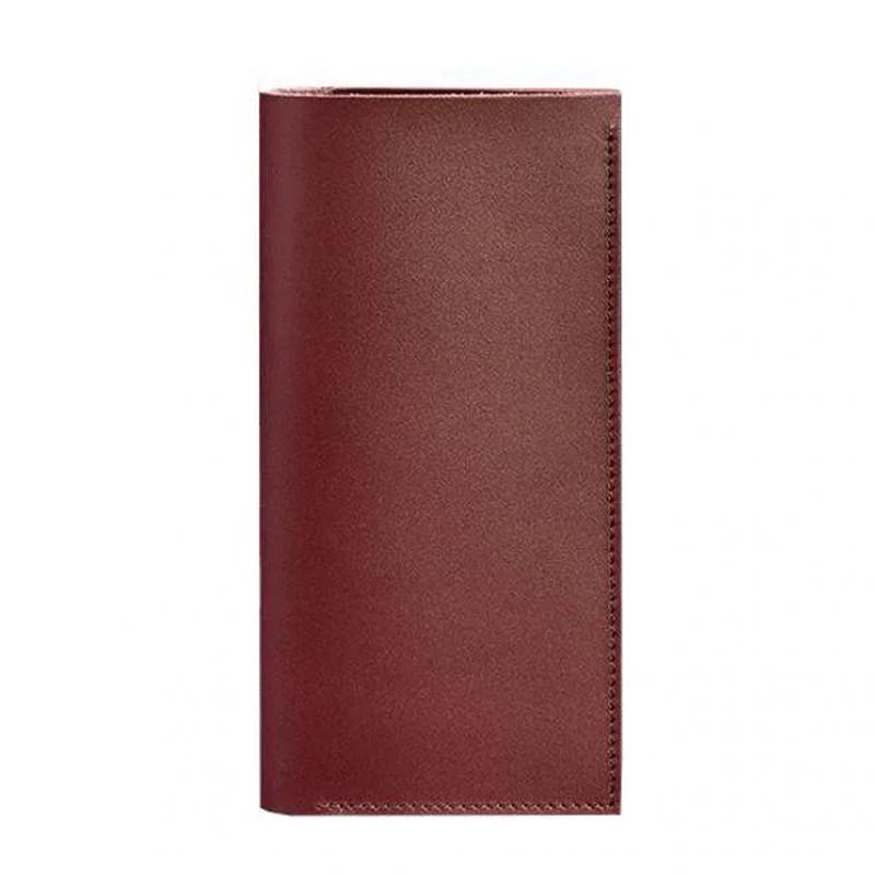 Кожаный женский Тревел-кейс Blanknote 3.1 бордовый Краст