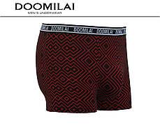 Чоловічі боксери (батал) стрейчеві з бамбука Марка «DOOMILAI» Арт.D-01352, фото 2