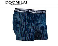 Чоловічі боксери (батал) стрейчеві з бамбука Марка «DOOMILAI» Арт.D-01352, фото 3