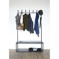 Вешалка для одежды GoodsMetall в стиле Лофт 1800х1200х400мм ВШ126