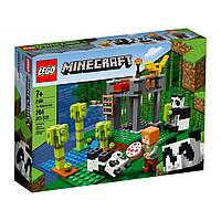 Lego Minecraft Ферма панд 21158