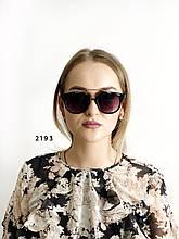 Стильні окуляри з чорними лінзами