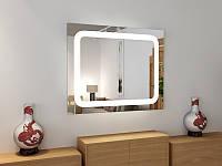 Зеркало led-2 с подсветкой 80х90 см, фото 1