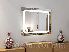 Зеркало led-2 с подсветкой 80х90 см