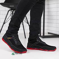 Кросівки чоловічі сітка червона підошва 40р, фото 3