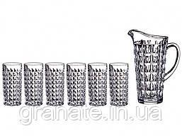 Набор для напитков Кувшин + стаканы 260 мл - 6 шт Bohemia