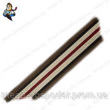 Лента ковровая жесткая 25мм - тесьма ременная полипропиленовая