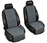 Накидки на сидения из Алькантары, широкие, на передние сиденья