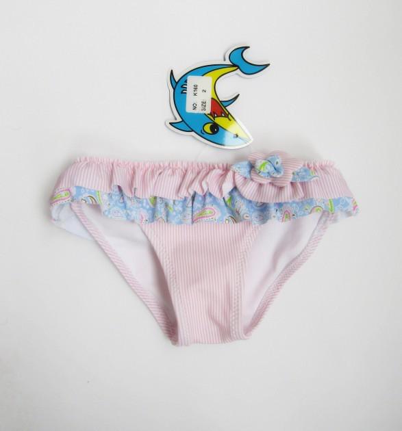 Плавки  с рюшами для купания для девочки, Teres (размер 1)