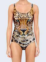 Купальник женский Взгляд леопарда