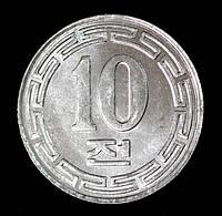 Монета Северной Кореи 10 чон 1959 г.