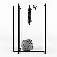 Вешалка стойка для одежды GoodsMetall в стиле Лофт 1600х1100х580мм ВШ135