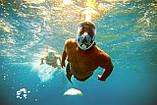 Панорамна маска для плавання, снорклінга FreeBreath., фото 8