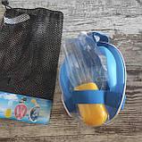 Панорамна маска для плавання, снорклінга FreeBreath., фото 3
