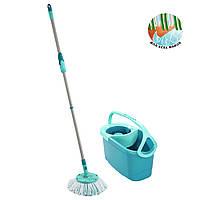 Набор для уборки Leifheit CLEAN TWIST Disc Mop Ergo / Швабра, ведро / Набор для мытья полов