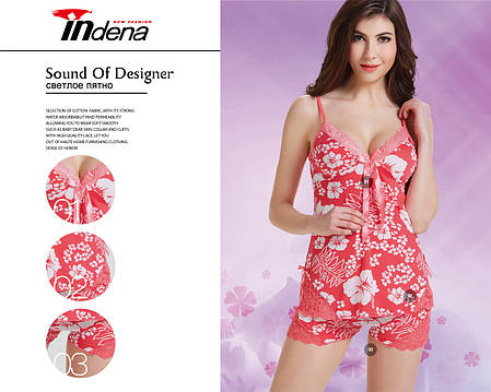 Жіночий комплект для сну Марка «INDENA» Арт.9142, фото 2