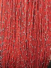 Шторы нити Дождь №17, кисея 3х3 м красные