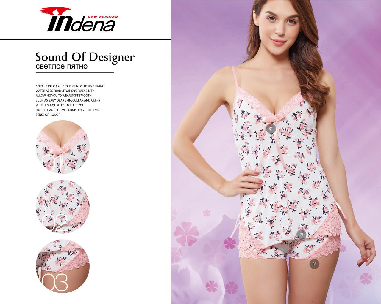 Жіночий комплект для сну Марка «INDENA» Арт.9118