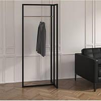 Вешалка стойка для одежды GoodsMetall в стиле Лофт 1800х700х500мм ВШ136