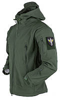 Тактическая куртка Soft Shell (Олива)