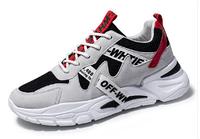 Кроссовки в стиле Off-White черно-белые, фото 1