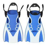 Спортивные короткие ласты для быстрого плавания AquaSpeed