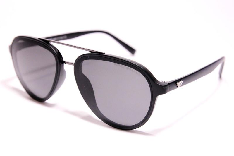 Мужские солнцезащитные очки Armani 174 C1 авиаторы черные