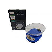 Кухонные электронные весы Rainberg RB-02 с чашей от 1г до 7 кг точные 1,5V + подарок