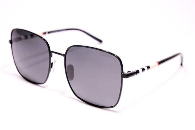 Солнцезащитные женские очки Burberry P31402 C1 реплика с поляризацией Черные, фото 2