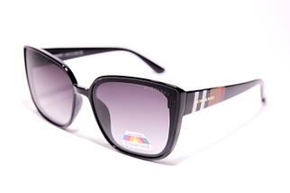 Солнцезащитные женские очки Burberry P8903 C1 реплика Черные с градиентом