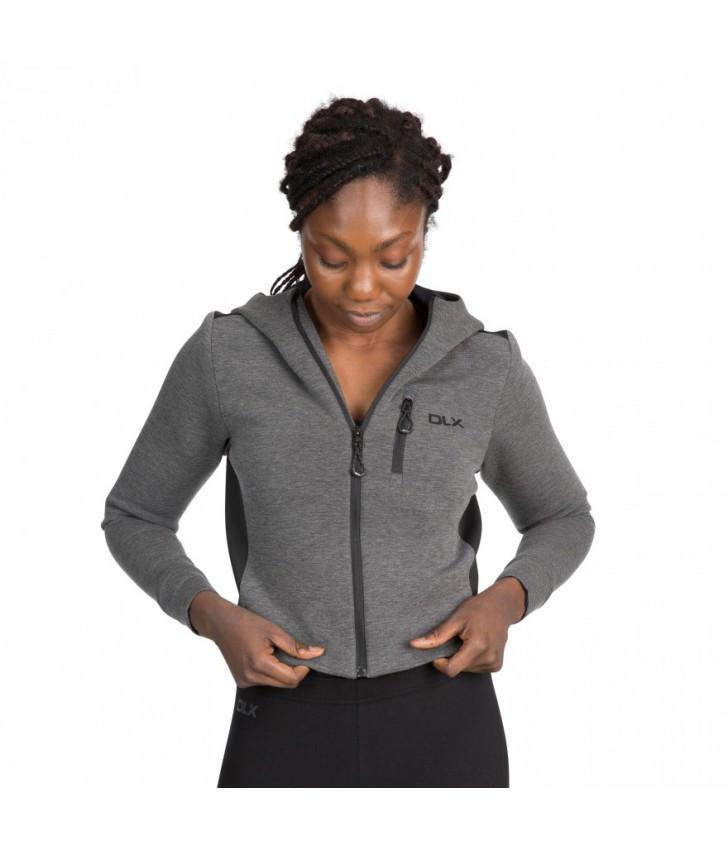 Женская толстовка худи Trespass FATOSWTR0001 Grey Marl