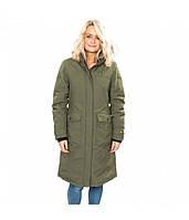 Зимняя женская длинная куртка Trespass FAJKDOM20005 Moss