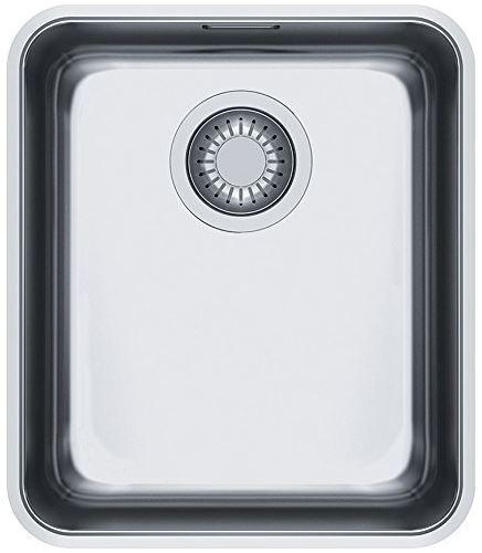 Кухонные мойки Franke Кухонная мойка из нержавеющей стали Franke Aton ANX 110-34, 122.0204.647, полированная