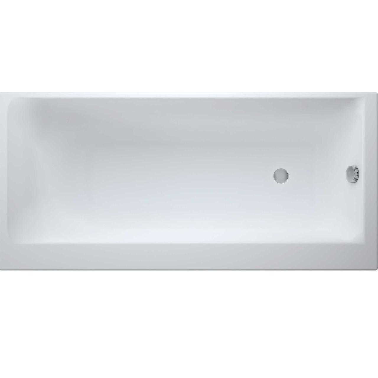 Ванны Cersanit Ванна с ножками Cersanit Smart 170x80 см, левая 281823